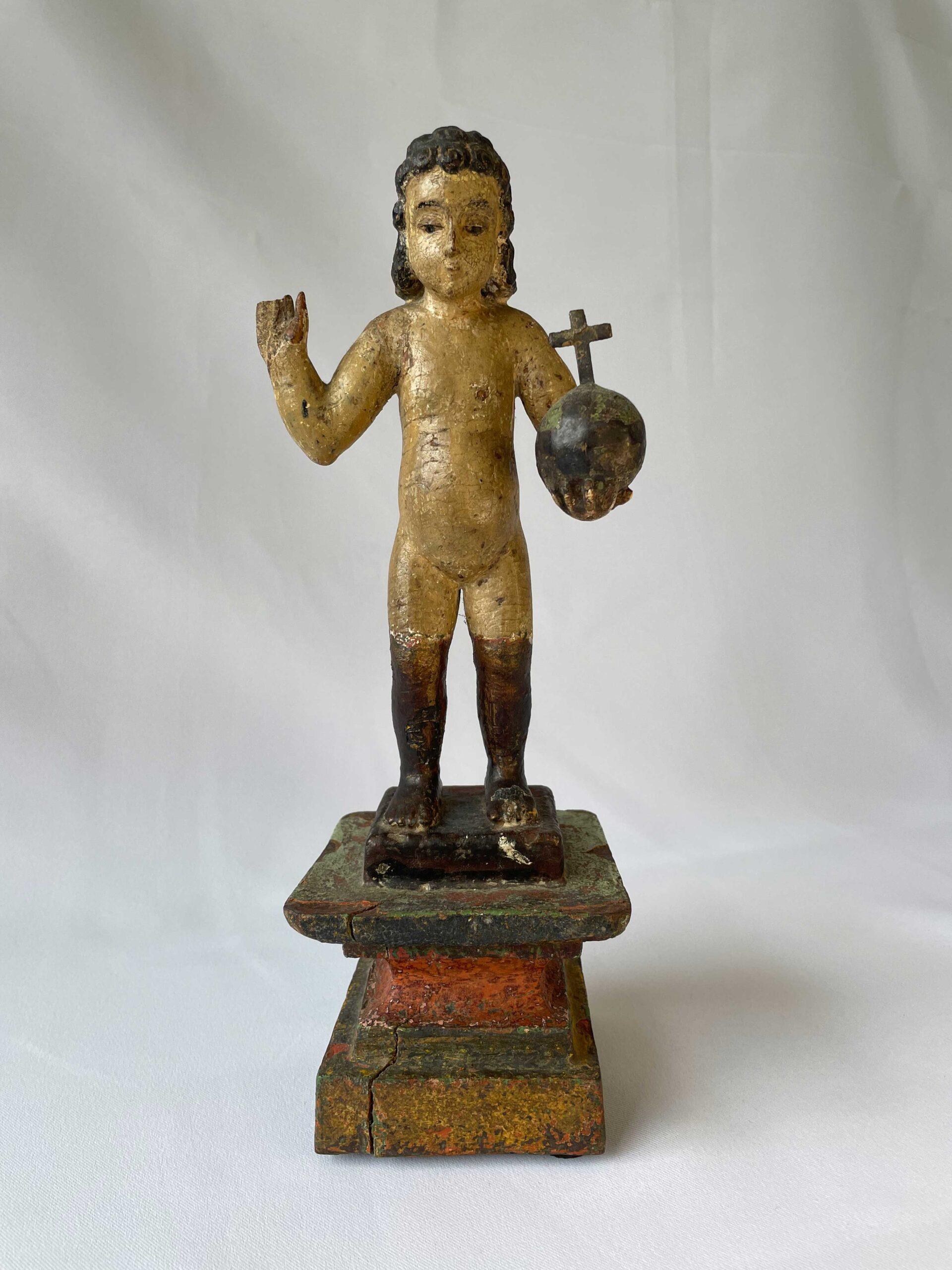 Santo Niño Hubad (Naked Holy Child), Bohol Island (18th Century)